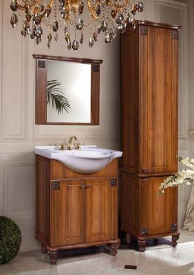 Шкаф-пенал для ванной Bliss Баккара 0453.4 (орех эко)