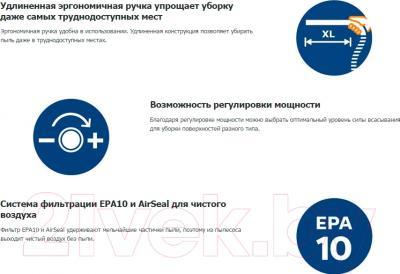 Пылесос Philips FC8671/01 - преимущества модели