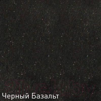 Мойка кухонная Zigmund & Shtain Eckig 1000.2 (черный базальт)