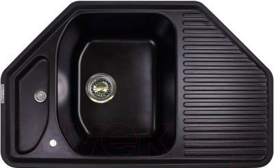 Мойка кухонная Zigmund & Shtain Eckig 800 (черный базальт)