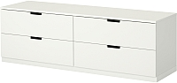 Комод Ikea Нордли 390.213.46 (белый) -