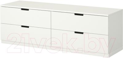 Комод Ikea Нордли 390.213.46 (белый)