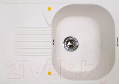 Мойка кухонная Zigmund & Shtain Klassisch 695 (индийская ваниль)
