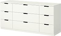 Комод Ikea Нордли 390.288.90 (белый) -