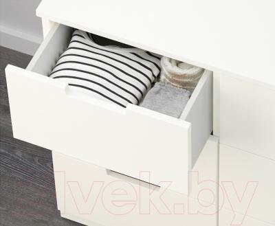 Комод Ikea Нордли 390.288.90 (белый)