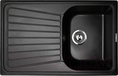 Мойка кухонная Zigmund & Shtain Klassisch 790 (черный базальт)