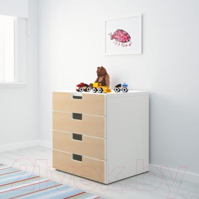 Комод Ikea Стува 390.289.08 - в интерьере