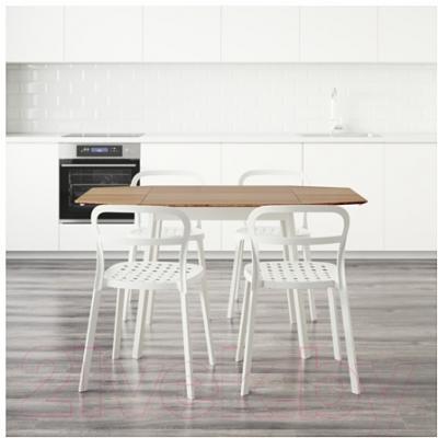 Обеденная группа Ikea Икеа ПС 2012 / Рейдар 199.172.18 (бамбук/белый) - Инструкция по сборке 2