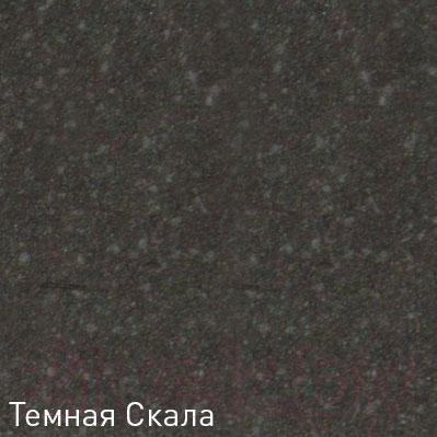 Мойка кухонная Zigmund & Shtain Kreis OV 770D (темная скала)