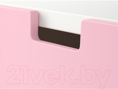 Комод Ikea Стува 390.990.81 (розовый)