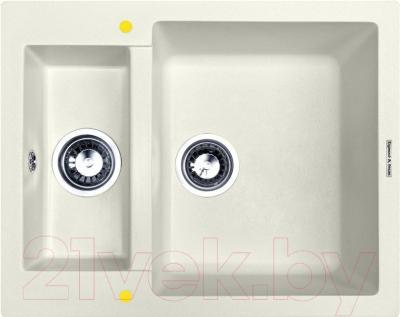 Мойка кухонная Zigmund & Shtain Rechteck 600.2 (индийская ваниль)