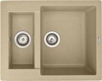 Мойка кухонная Zigmund & Shtain Rechteck 600.2 (молодое шампанское) -
