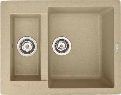 Мойка кухонная Zigmund & Shtain Rechteck 600.2 (молодое шампанское)