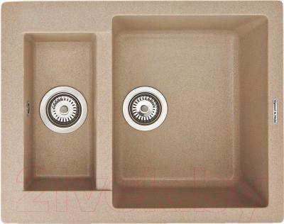 Мойка кухонная Zigmund & Shtain Rechteck 600.2 (осенняя трава)