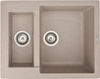 Мойка кухонная Zigmund & Shtain Rechteck 600.2 (речной песок) -