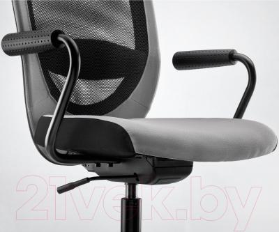 Кресло офисное Ikea Флинтан / Номинель 391.224.73 - вид спереди