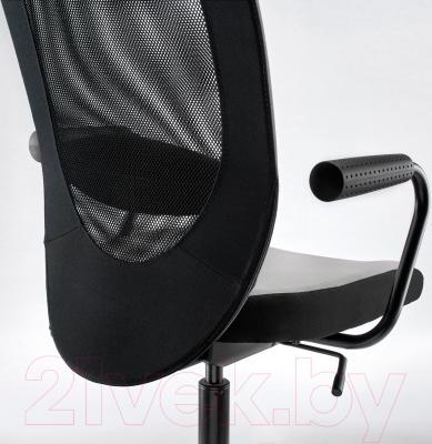 Кресло офисное Ikea Флинтан / Номинель 391.224.73 - вид сзади