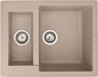 Мойка кухонная Zigmund & Shtain Rechteck 600.2 (топленное молоко) -