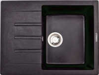 Мойка кухонная Zigmund & Shtain Rechteck 645 (черный базальт) -