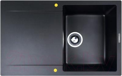 Мойка кухонная Zigmund Shtain Rechteck 775 (черный базальт)
