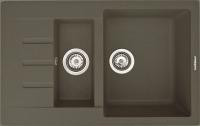 Мойка кухонная Zigmund & Shtain Rechteck 775.2 (темная скала) -