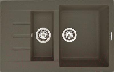 Мойка кухонная Zigmund & Shtain Rechteck 775.2 (темная скала)