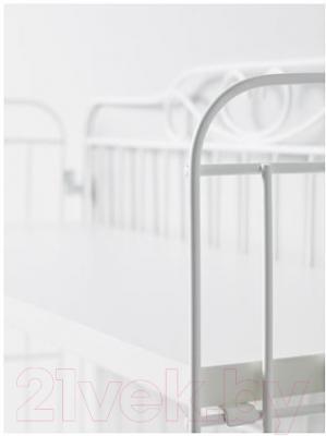 Письменный стол Ikea Фалькхойден 391.289.17 (белый)