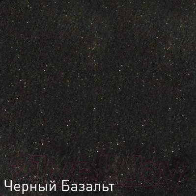 Мойка кухонная Zigmund & Shtain Rechteck 775.2 (черный базальт)