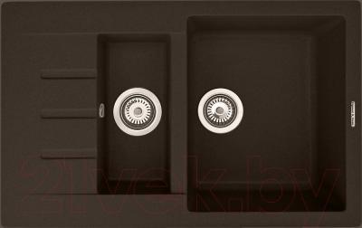 Мойка кухонная Zigmund & Shtain Rechteck 775.2 (швейцарский шоколад)