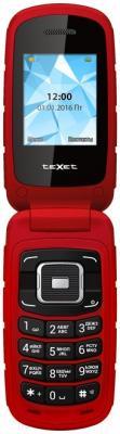 Мобильный телефон TeXet TM-104 (красный)