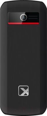 Мобильный телефон TeXet TM-126 (черный/красный)