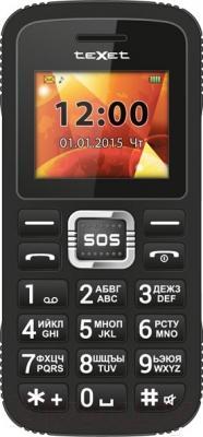 Мобильный телефон TeXet TM-B119 (черный)