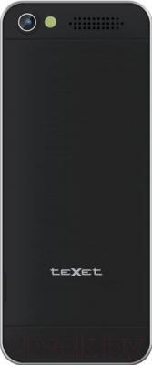 Мобильный телефон TeXet TM-D301 (черный/серебристый)