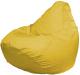 Бескаркасное кресло Flagman Груша Макси Г2.2-07 (желтый) -