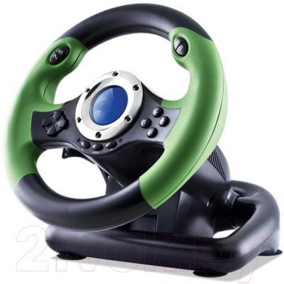 Игровой руль Sven Drift SV-063010 (зеленый/черный)