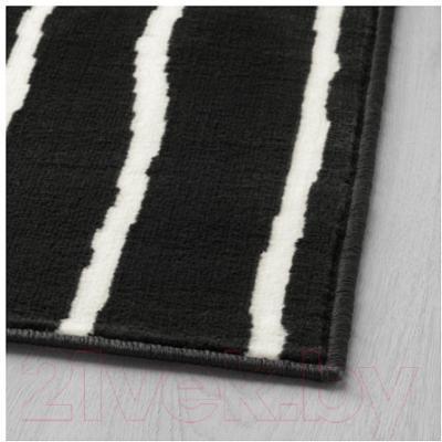Ковер Ikea Гёрлёсе 503.208.48 (черный/белый)