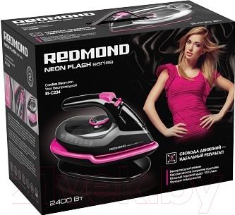 Беспроводной утюг Redmond RI-C234 (розовый)