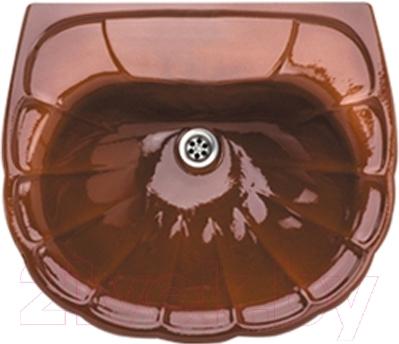 Умывальник настенный Colombo Орхидея R S18105874 (бежево-коричневый)