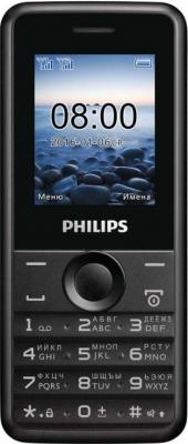 Мобильный телефон Philips Xenium E103 (черный)