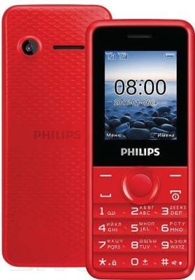 Мобильный телефон Philips Xenium E103 (красный)