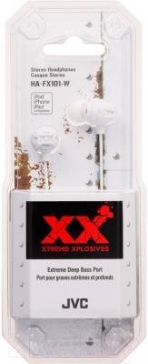 Наушники JVC HA-FX101-WEF