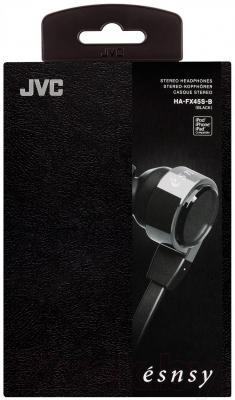 Наушники JVC HA-FX45S-B-E