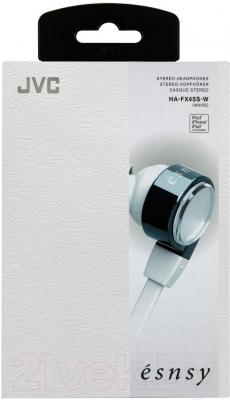 Наушники JVC HA-FX45S-W-E