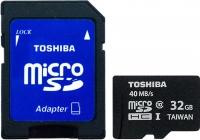 Карта памяти Toshiba microSD SDHC 32GB Class 10 + UHS-In / SD-C032UHS1 -
