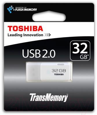 Usb flash накопитель Toshiba Flash Drive 32Gb Hayabusa THNU32HAYWHT