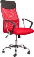 Кресло офисное Седия Aria (черный/красный) -
