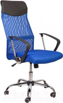 Кресло офисное Седия Aria (черный/синий)