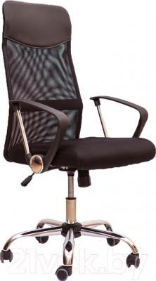 Кресло офисное Седия Aria (черный/черный)