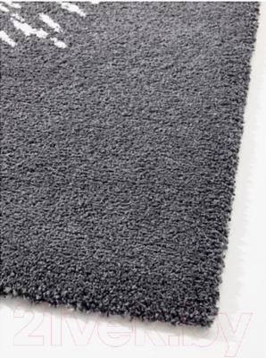 Ковер Ikea Сандерум 703.047.67 (серый/белый)