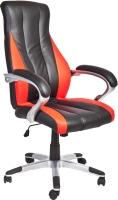 Кресло офисное Седия Barney (черный/красный) -